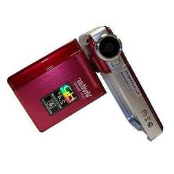 Vivitar DVR925-RED/KIT-AMX 8.1 MP HD Digital Video Camera wi
