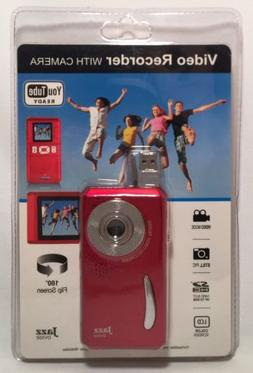 Jazz DVX50 Video Recorder, Red, NEW