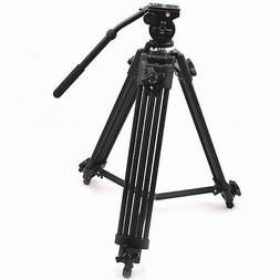 ePhoto WF717 Professional Heavy Duty Video Camcorder Tripod