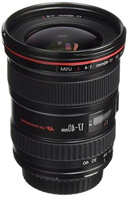 Canon EF 17-40mm f/4L USM Ultra Wide Angle Zoom Lens for Can