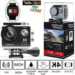 AKASO EK7000 1080P Ultra HD 4K WIFI Sports Action Camera Wat