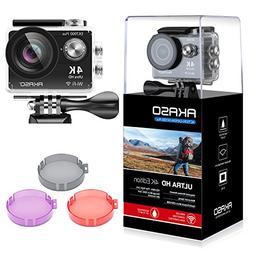 AKASO EK7000 Plus 4K 16MP WiFi Action Camera Adjustable View
