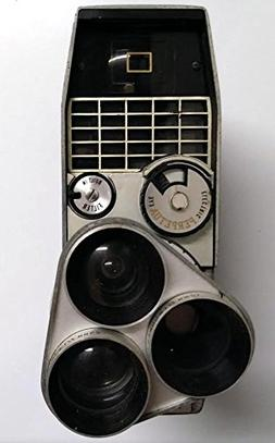 Bell & Howell Electric Eye 8mm Film Camera Perpetua 393E