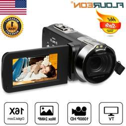 "2.7"" Camcorder Digital Video Vlogging YouTube Camera Full HD"
