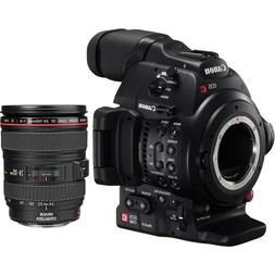 Canon EOS C100 Mark II Cinema EOS Camera with EF 24-105mm f/