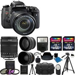 Canon EOS Rebel T6s DSLR Camera USA Warranty With Canon EF-S