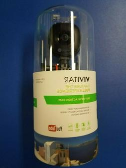 Brand New Vivitar 360 Degree View Action Camera DVR978HD-BLK