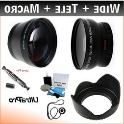 43mm Essential Lens Kit for Select Canon Camcorders. Bundle