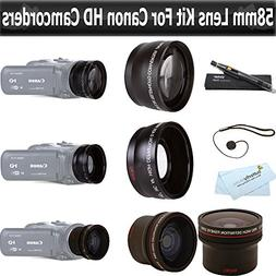 ButterflyPhoto Essentials Lens Kit For Canon Vixia HF G20, H