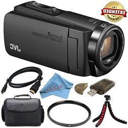 JVC Everio GZ-R560BUS Quad-Proof HD Camcorder with 40x Optic