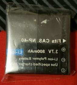Casio Exilim 3.7v 800mAh NP-40 Rechargeable Replacement Batt
