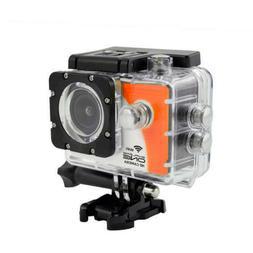 ExploreOne WiFi HD Action Camera w/ Accessories