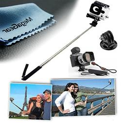 MegaGear Extendable Telescopic Handheld Pole Arm Monopod Sel