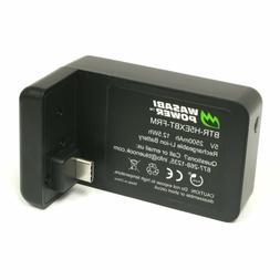Wasabi Power 2500mAh Extended Battery for GoPro HERO6 Black,