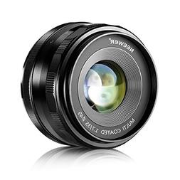 Neewer 35mm f/1.7 Manual Focus Prime Fixed Lens for SONY E-M