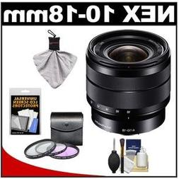 Sony 10-18mm f/4 OSS Alpha E-mount Wide-Angle Zoom Lens #SEL
