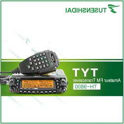 Factory Authorized TYT TH-9800 Plus Free Shipping 50W Scramb