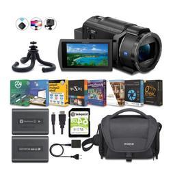 Sony FDR-AX43 4K UHD Handycam Camcorder Content Creator Bund