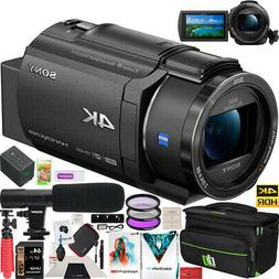 Sony FDR-AX43 4K UHD Handycam Camcorder Kit AX43 Video Recor