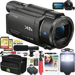 Sony FDR-AX53 4K Ultra HD Handycam Camcorder FDRAX53/B Video