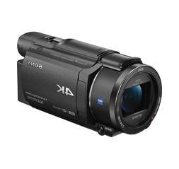fdr ax53 b 4k handycam camcorder new