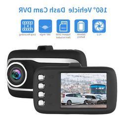 FHD 1080P Car DVR Camcorder Dash Cam G-Sensor Loop Recording