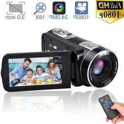 fhd camcorder night vision 1080p remote control