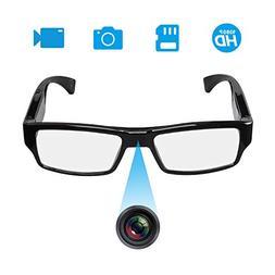 FHD Hidden Camera Eyeglasses - Super Small Surveillance Spy