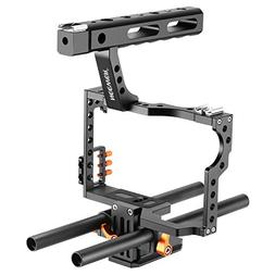 Neewer Film Movie Making Rig Camera Video Cage Kit With Hand