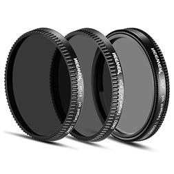 Neewer 3-Piece Filter Set for DJI OSMO / Inspire 1:  Polariz