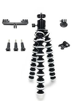 FlexPodX2 Flexible Tripod 6 in 1 kit for GoPro Dual Mount Go