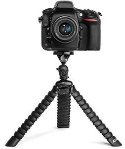Flexible Tripod for DSLR, Mirrorless, and SLR Cameras by LOH