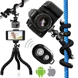 Nialik Flexible Tripod For Your Camera, Phone, Flashlight or