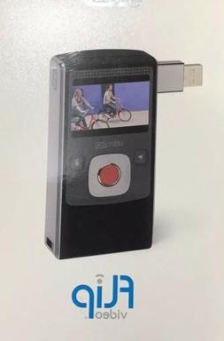 Flip Camcorder Ultra HD 120 Minutes 8 GB U2120B w Table Trip