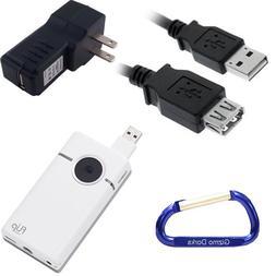 Cisco Flip Video SlideHD 2 Item Travel Bundle: USB Extension