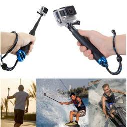Waterproof Extension Pole Selfie Stick Monopod For Go Pro Go