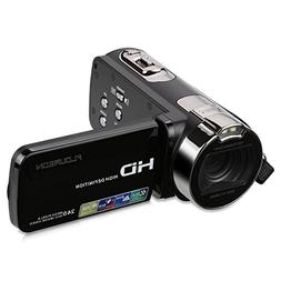 FLOUREON HD 1080P Camcorder Digital Video Camera DV 3.0 TFT