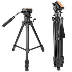 """Kamisafe KINGJOY VT-1500 65""""/166cm Adjustable Camera Video T"""