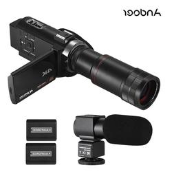 <font><b>Andoer</b></font> 4K HD Digital Video Camera <font>