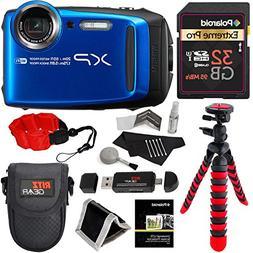 Fujifilm FinePix XP120 Waterproof Digital Camera - Blue, Pol