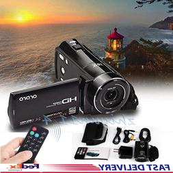 ORDRO Full HD 1080P HDV V7 Digital Video Camera Camcorder Ma