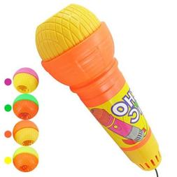 Fun Echo Microphone Mic Voice Changer Toy Gift Birthday Pres
