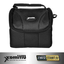 Small Gadget Digital Camera/Camcorder Bag - Black