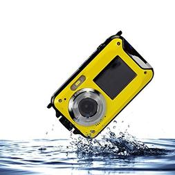 PowerLead Gapo PL-03 Double Screens Waterproof Digital Camer