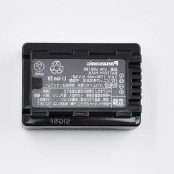 Genuine Panasonic VW-VBK180 Li-Ion Battery Pack for HDC-SD80