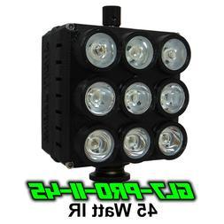 Ghost Light™ GL7-PRO-II 45 Watt IR LED Light for Infrared