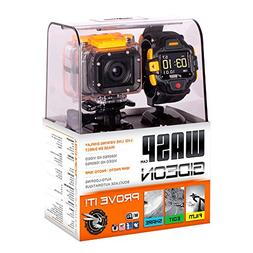 WASPcam Gideon Action Sports Camcorder with LVD Display Wris