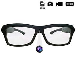 HD 1080P Camera Glasses with Video Loop Video Recorder Glass