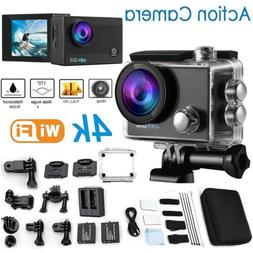 Go As Pro 4K Sports Action Camera Ultra HD DV 16MP 1080p +Fu