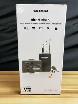 Samson - Go Mic Mobile Lavalier Wireless Microphone System -
